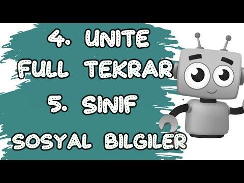 5. SINIF 4. ÜNİTE FULL TEKRAR - BİLİM TEKNOLOJİ VE TOPLUM