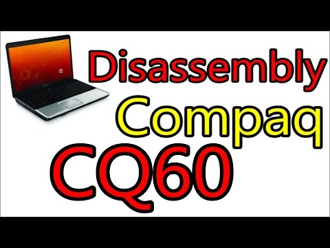 How To Open & Clean Fan HP Compaq Presario CQ60 | Disassembly Notebook