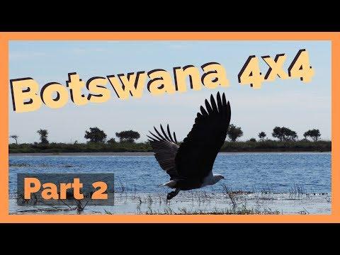 Botswana 4x4 - Part 2 (Third Bridge - Maun - Nxai Pan - Baines Baobabs)