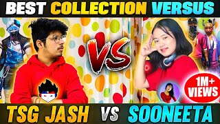 Sooneeta Vs TSG Jash Funniest Collection Versus 😂|| Richest Player From 🇳🇵 Nepal- Garena FreeFire