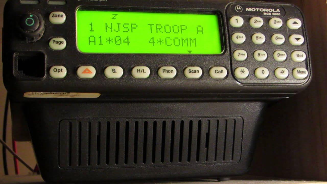 Motorola Mcs 2000 Wiring Diagram Explained Diagrams Cdm1250 Mcs2000 Non Affiliate Trunk Scan Youtube Radio