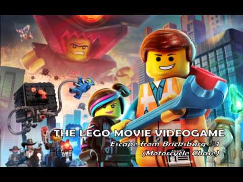 The LEGO Movie Videogame - Soundtrack - Escape from Bricksburg #3 (Motorcycle Chase)
