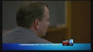 Det: Commish Rolls may face sex charge