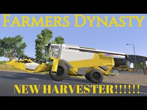 Farmers Dynasty | #20 | New Harvester! |