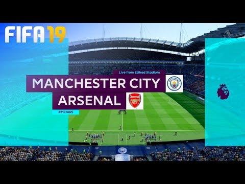 FIFA 19 - Manchester City vs. Arsenal @ Etihad Stadium