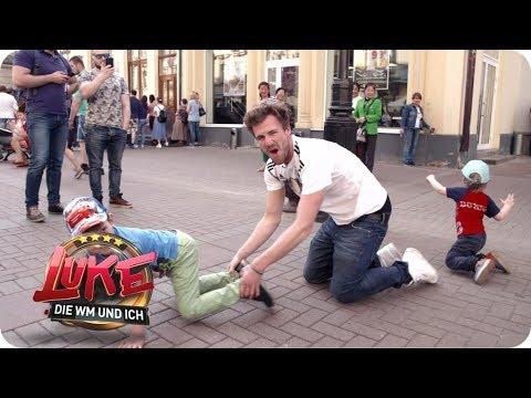 Torjubel in Moskau - Luke beim WM-Gastgeber Russland - LUKE! Die WM und ich