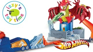 Cars for Kids | Hot Wheels Toys and Fast Lane Dragon Blast | Fun Toy Cars for Kids Video