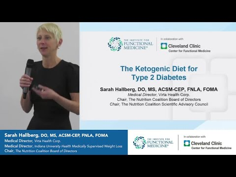 Ketogenic Diet for Diabetes with Sarah Hallberg, DO