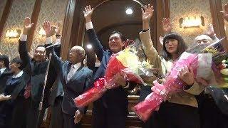 「もの言う知事」3期目も姿勢継続へ 愛媛・中村時広氏当選