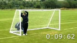 ITSA GOAL mini soccer goal assembly