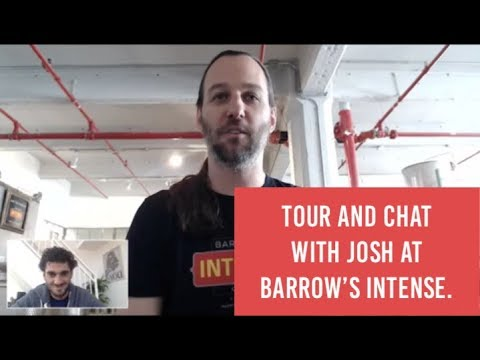 Barrow's Intense: Skype Interview with Founder Josh