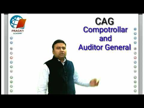 CAG(comptroller and auditor general)