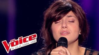 The Voice 2015│Elvya - Je suis malade (Serge Lama)│Blind Audition
