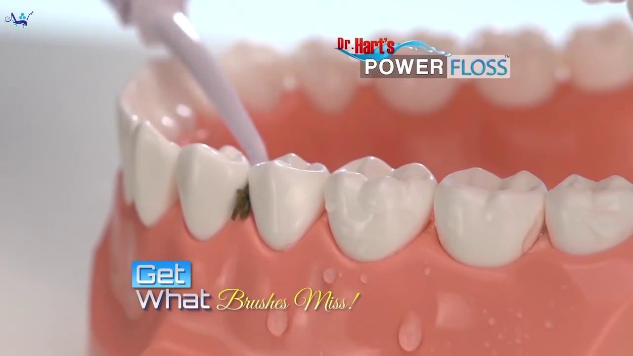 احصل على ابتسامة مشرقة جهاز تنظيف الاسنان بضغط الماء Youtube