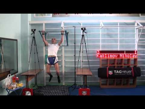 Nikolay Kaklimov broke two Guinness World Records pull-ups