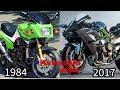 Evolution Of The Kawasaki Ninja (1984 - 2017)