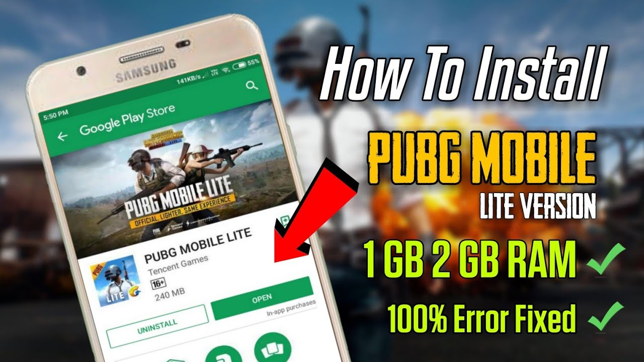 How To Install PUBG Mobile Lite Version | 100% Error Fixed