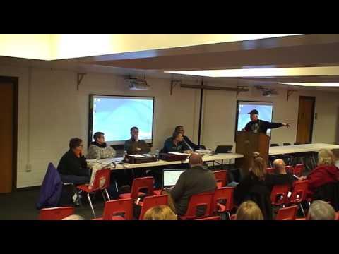 Ellington Township Board Discussion On NextEra's Planned Tuscola III Wind Farm (March 1, 2016)