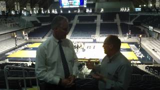 Butler University athletic director Barry Collier