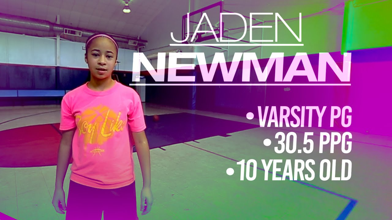 10-Year-Old Jaden Newman Wants to Be 1st Woman in NBA - YouTube