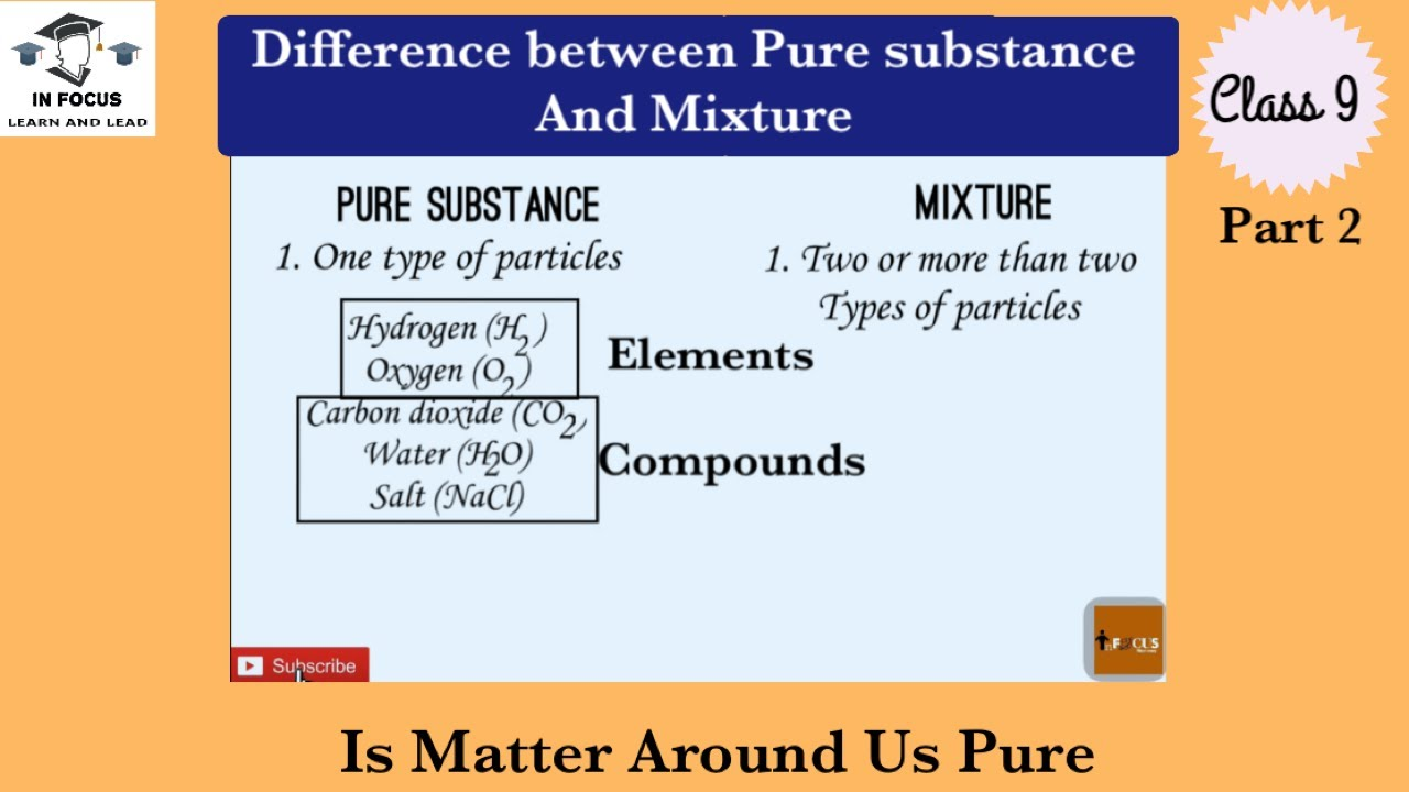 what is the difference between matter and substance