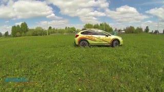 Обзор Subaru XV 2015 Тест Драйв В Сибири !