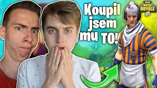 I BOUGHT a SKIN for SMILOVI and responded like that! • FORTNITE CZ/SK | Jeniik