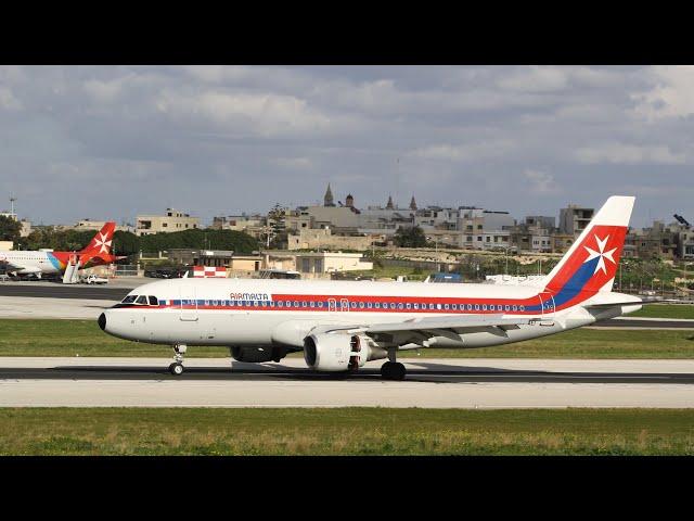 Air Malta A320 9H-AEI [Retro 1970] retired from service
