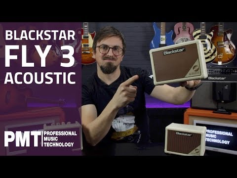 Blackstar Acoustic Fly 3...The Perfect Battery Powered Busker's Amp?