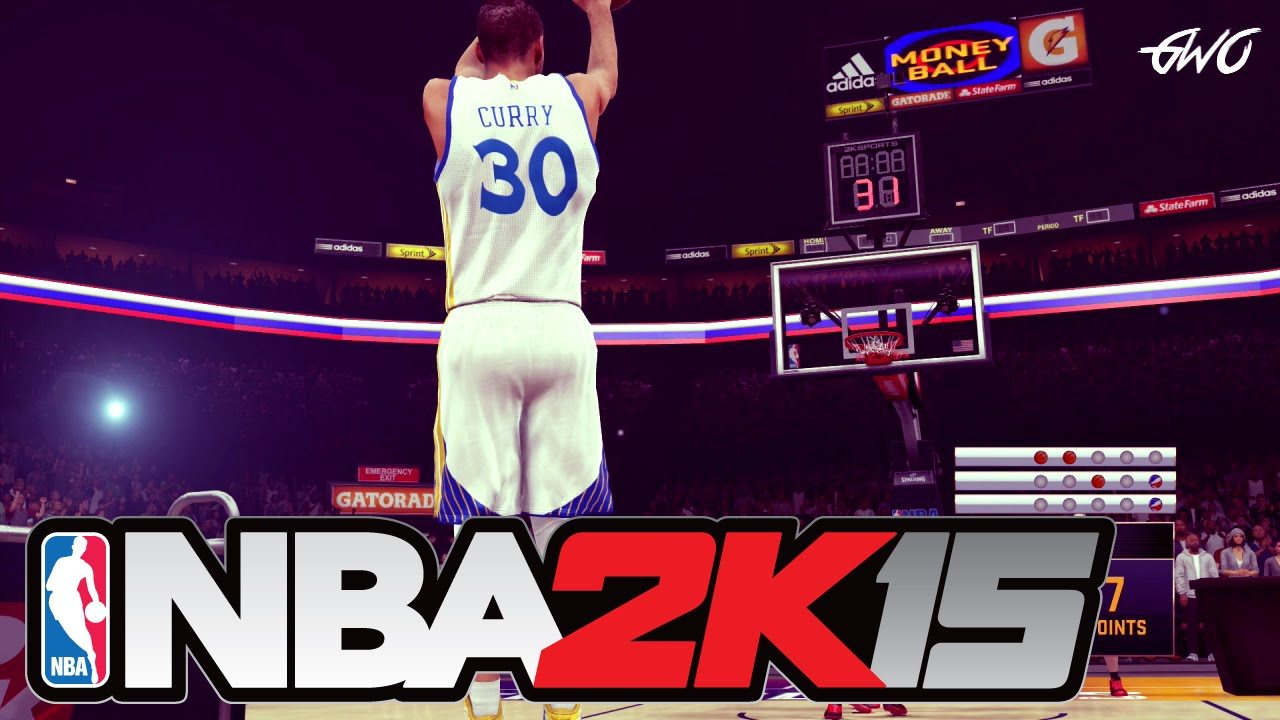NBA 2K15 - EPIC 3 Point Contest Feat. Steph Curry, Klay ...