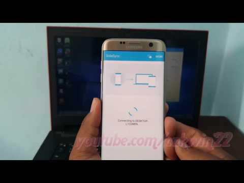 Samsung Galaxy S7 Edge: How To Add Music From PC Via Wifi Using Sidesync (Android Marshmallow)