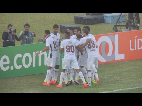 Santa Cruz 0 x 1 Fluminense - Gol - Brasileirão Série A 2016