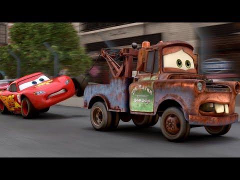 """Держись от меня подальше!  - """"Тачки 2"""" отрывок из фильма"""