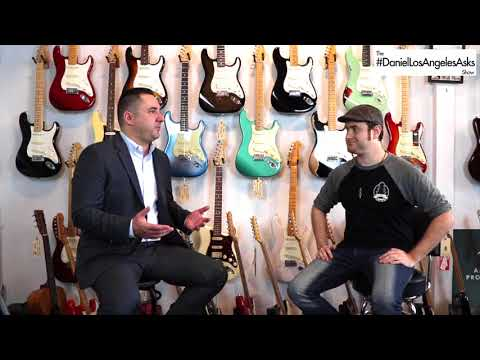 Imperial Vintage Guitar's Interview With The Daniel Los Angeles Asks Show