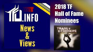 TFU.info's Transformers Hall of Fame Nominees for 2018 - TFU News and Views Episode 0021