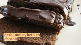 Keto Cream Cheese Chocolate Pound Cake