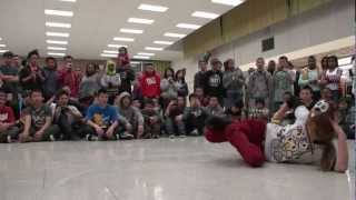 Battle Night Vol. 9: Tinylocks vs Mae Day (UGF) | Bgirl Battle - Dancersglobal