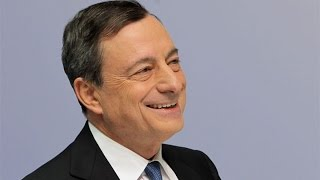 ECB President Mario Draghi's News Conference in Two Minutes