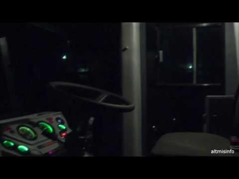 Освещенность рабочих зон трактора К-744Р1