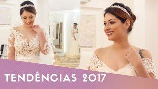 Vestido de Noiva - Tendências para 2017