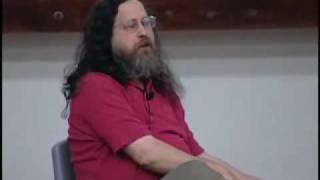 Richard Stallman Eats Something From His Foot
