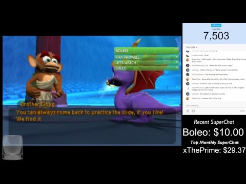 """""""YEOUCH"""" - Trying Out(And Breaking): """"Spyro: Enter The Dragonfly"""""""