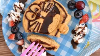 Doraemon character pancake kit. about 300yen 【instagram】⇒http://i...