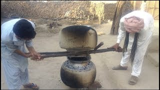 how to make sweet rice recipe /shadi wala zarda chawal/punjab village wedding food