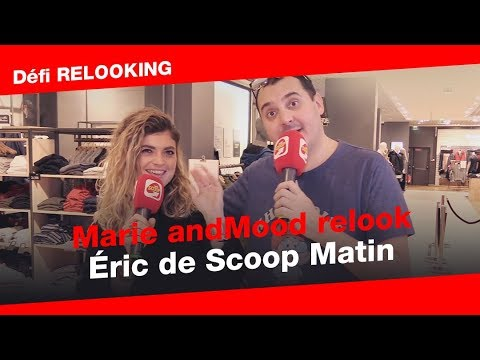 Marie and Mood relook Eric de Scoop Matin Lyon 😂