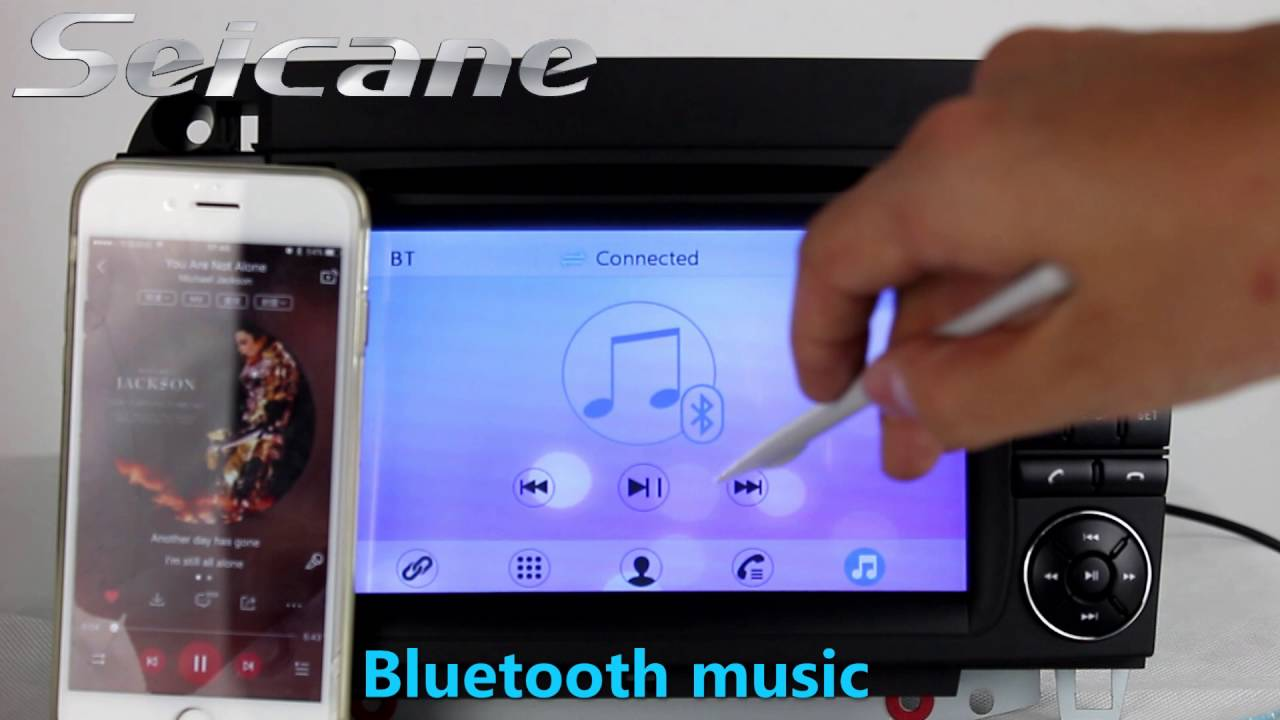 1998 2005 mercedes benz cl w215 bluetooth usb music hd tv for Mercedes benz music system