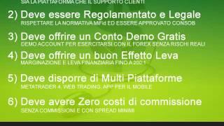 Quale e il miglior broker forex italiano