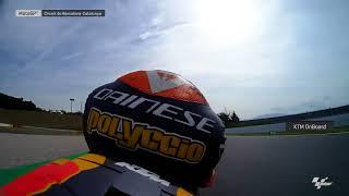Catalan GP: KTM OnBoard
