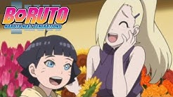 Himawari Meets Ino | Boruto: Naruto Next Generations