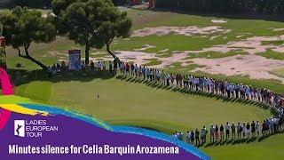 Minutes silence for Celia Barquin Arozamena
